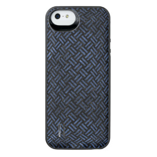 WOVEN2 BLACK MARBLE & BLUE STONE iPhone SE/5/5s BATTERY CASE