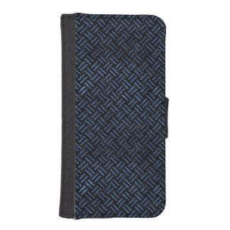 WOVEN2 BLACK MARBLE & BLUE STONE iPhone SE/5/5s WALLET CASE