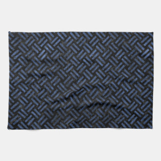 WOVEN2 BLACK MARBLE & BLUE STONE KITCHEN TOWEL