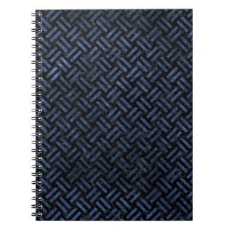 WOVEN2 BLACK MARBLE & BLUE STONE NOTEBOOKS