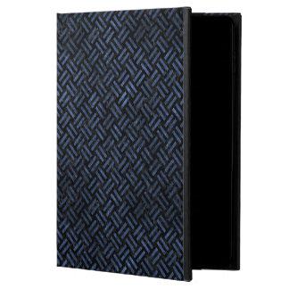 WOVEN2 BLACK MARBLE & BLUE STONE POWIS iPad AIR 2 CASE