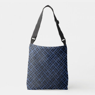 WOVEN2 BLACK MARBLE & BLUE STONE (R) CROSSBODY BAG