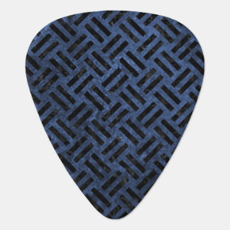 WOVEN2 BLACK MARBLE & BLUE STONE (R) GUITAR PICK