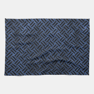 WOVEN2 BLACK MARBLE & BLUE STONE (R) HAND TOWEL