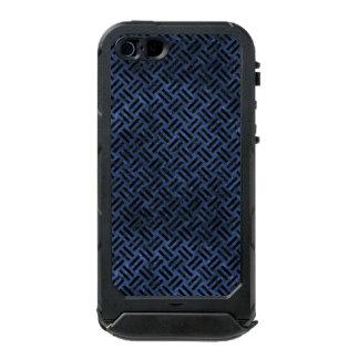 WOVEN2 BLACK MARBLE & BLUE STONE (R) INCIPIO ATLAS ID™ iPhone 5 CASE