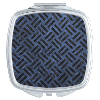 WOVEN2 BLACK MARBLE & BLUE STONE (R) MIRRORS FOR MAKEUP