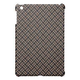 WOVEN2 BLACK MARBLE & BROWN COLORED PENCIL iPad MINI COVERS