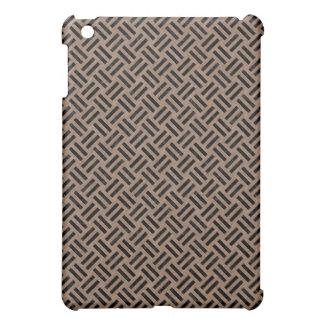 WOVEN2 BLACK MARBLE & BROWN COLORED PENCIL (R) iPad MINI COVER