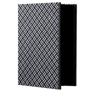 WOVEN2 BLACK MARBLE & WHITE MARBLE POWIS iPad AIR 2 CASE
