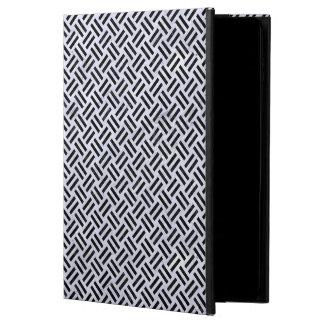 WOVEN2 BLACK MARBLE & WHITE MARBLE (R) POWIS iPad AIR 2 CASE