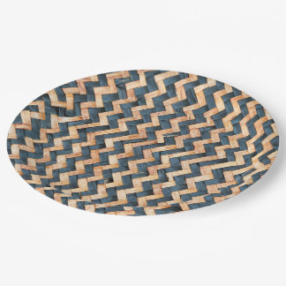 Woven Bamboo Paper Plate
