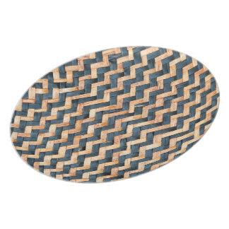Woven Bamboo Plate