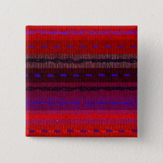 Woven Bands 2 Inch Square Button