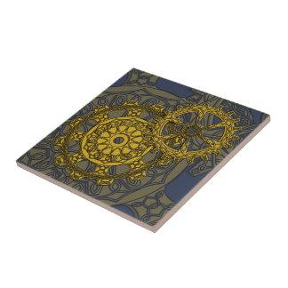 Woven Clockwork Tile