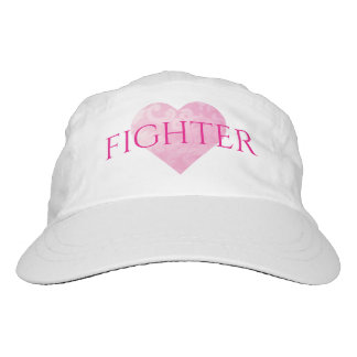 Woven Fighter Hat with Heart, Customizable