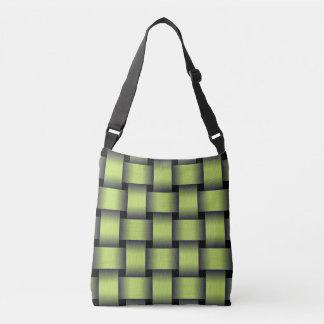 Woven Greenery Crossbody Bag