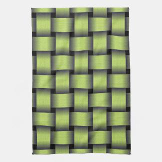 Woven Greenery Kitchen Towel