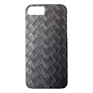 woven leather iphone case printed