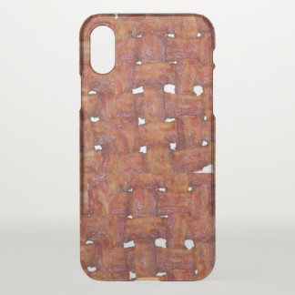 Woven Mat of Bacon iPhone X Case
