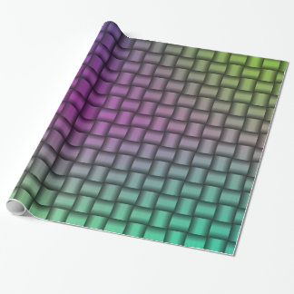 Woven Metallic Colourful Wrapping Paper