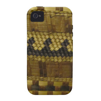 Woven NW Coast Indian Fiber Art Case-Mate iPhone 4 Covers