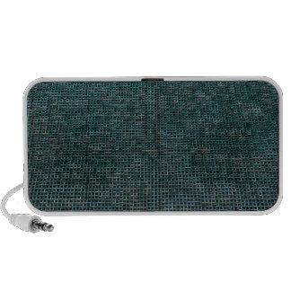 Woven Structure,aqua iPod Speakers