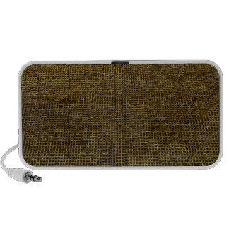 woven structure, golden speaker system