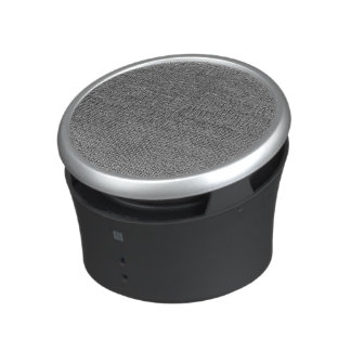 woven structure metal silver speaker