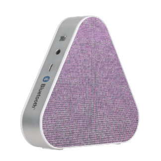 woven structure pink speaker