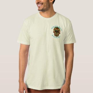 Woven Sugar Skull T-Shirt