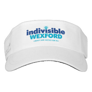 Woven Visor with Logo and Tagline
