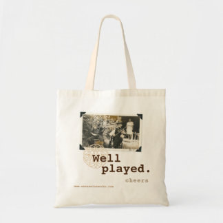 Woven Wineworks Tote Congrats