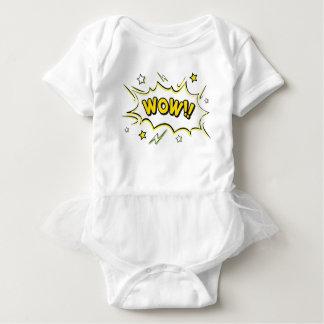 wow3 baby bodysuit
