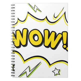 wow3 spiral notebook