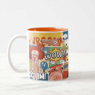 WOW aleloop Cartoon Mug