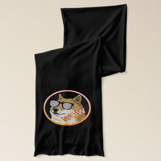 WOW Dogecoin Cryptocurrency Scarf