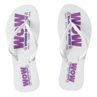 WOW flip flops