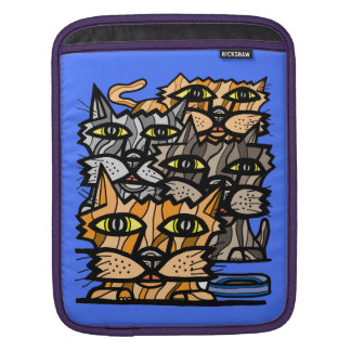 """Wow Meow"" iPad/ iPad Mini, MacBook Air Sleeve"
