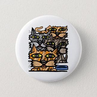 """""""Wow Meow"""" Round Button"""