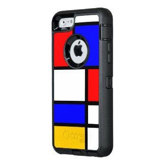 Wow mondrian OtterBox defender iPhone case