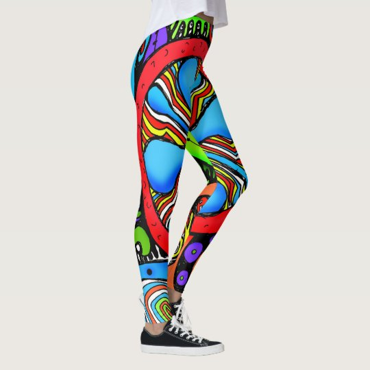 Wow on the path leggings