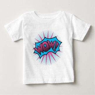 Wow Text Design Baby T-Shirt