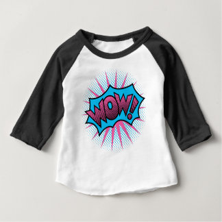 WOW! Text Design Baby T-Shirt
