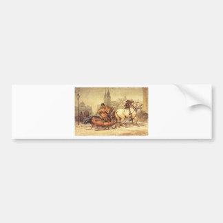 Woznica_warszawski_Sleigh Ride #2 Bumper Sticker