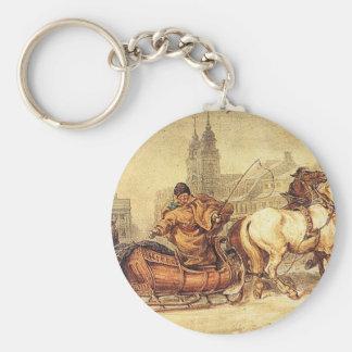 Woznica_warszawski_Sleigh Ride #2 Keychain