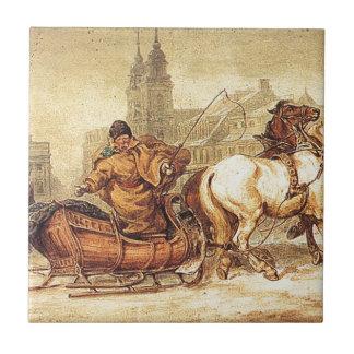 Woznica_warszawski_Sleigh Ride #2 Tile