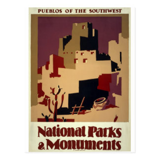 WPA - National Parks Postcard