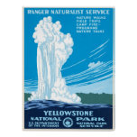 WPA Poster for Yellowstone National Park