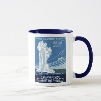 "WPA Posters - ""Yellowstone"" Coffee  Mug"
