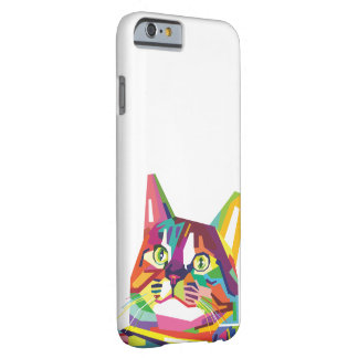 WPAP Cat Barely There iPhone 6 Case